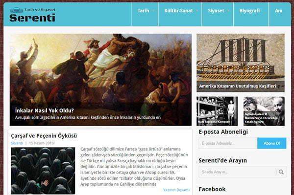 Serenti - Tarihe ve Siyasete Farklı Bakış