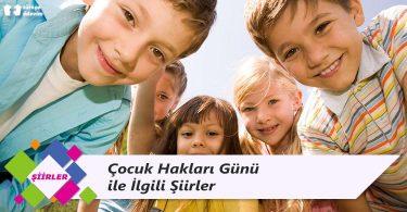 Çocuk Hakları Günü ile İlgili Şiirler