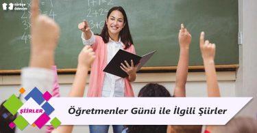 Öğretmenler Günü ile İlgili Şiirler