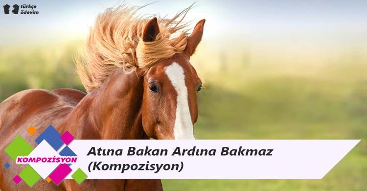 Atına Bakan Ardına Bakmaz - Kompozisyon