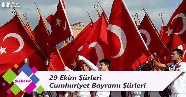 29 Ekim Şiirleri Cumhuriyet Bayramı Şiirleri