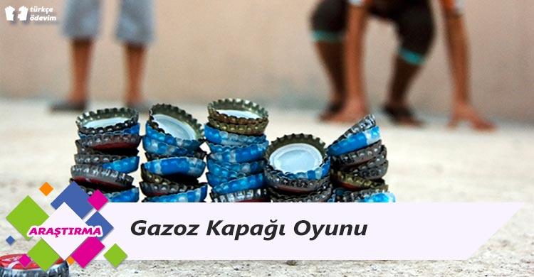 Gazoz Kapağı Oyunu