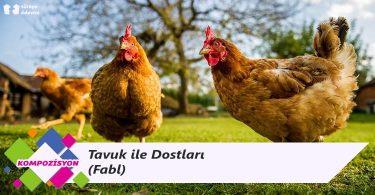 Tavuk ile Dostları - Dostluk Konulu Fabl