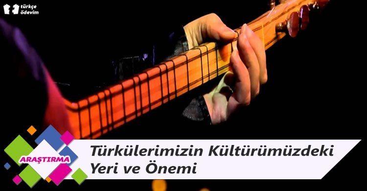 Türkülerimizin Kültürümüzdeki Yeri ve Önemi