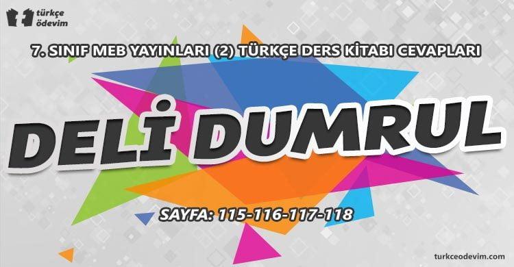 Deli Dumrul Dinleme Metni Cevapları - 7. Sınıf Türkçe MEB Yayınları (2)
