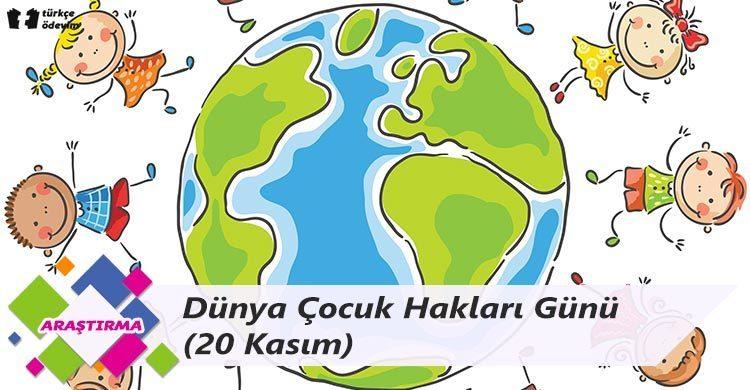 Dünya Çocuk Hakları Günü (20 Kasım)