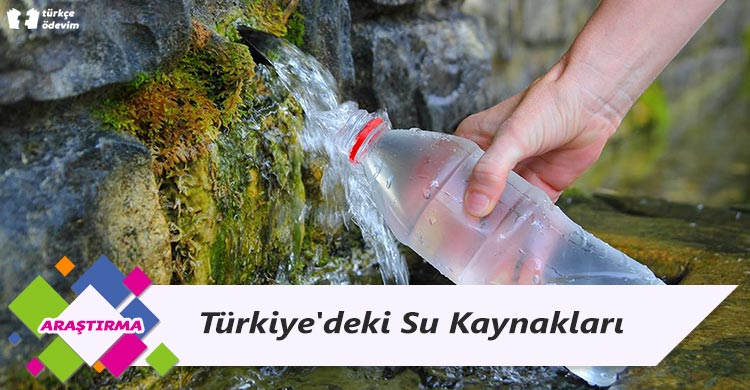 Türkiye'deki Su Kaynakları