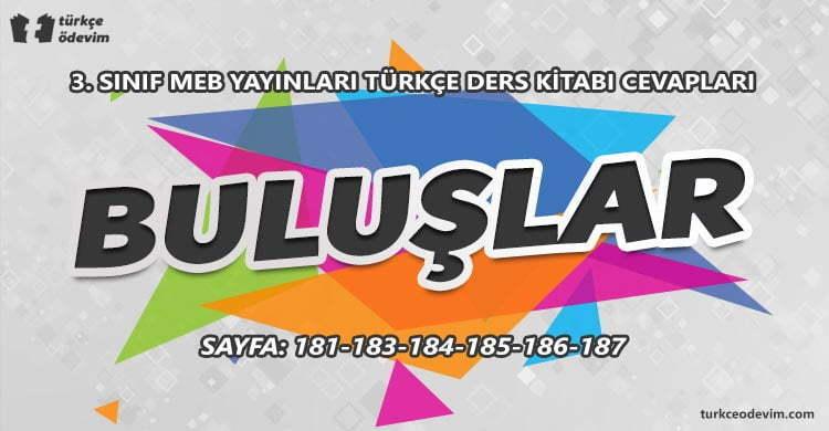 Buluşlar Metni Etkinlik Cevapları - 3. Sınıf Türkçe MEB Yayınları