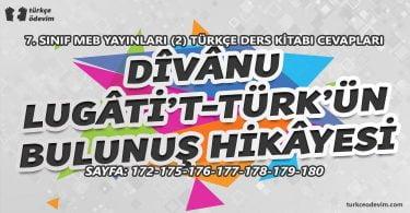 Divanu Lugati't-Türk'ün Bulunuş Hikayesi Metni Cevapları - 7. Sınıf Türkçe MEB Yayınları (2)