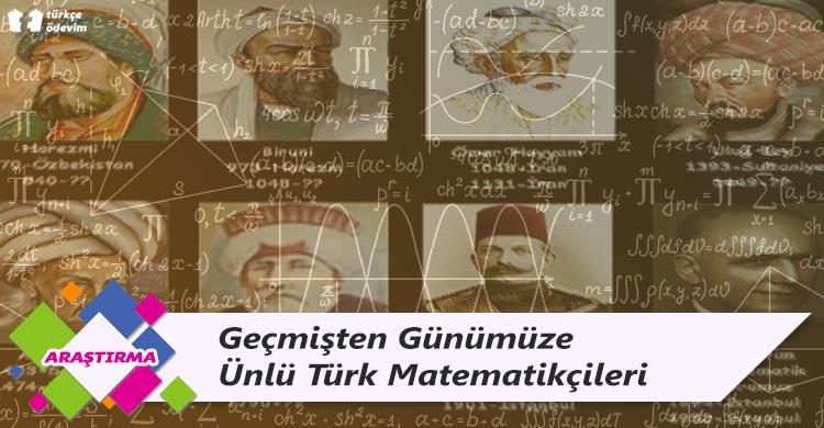 Geçmişten Günümüze Ünlü Türk Matematikçileri