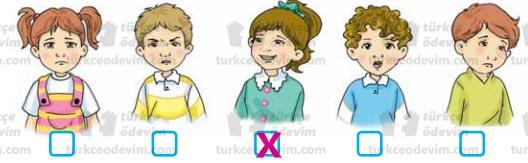 Hediye Seçimi Metni Cevapları - 3. Sınıf Türkçe Sonuç Yayınları - Yüz İfadeleri