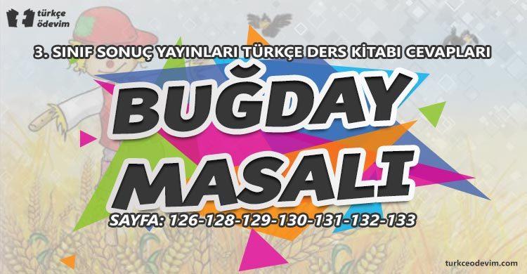 Buğday Masalı Metni Cevapları - 3. Sınıf Türkçe Sonuç Yayınları