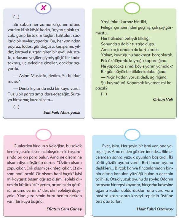 Oyun Metni Cevapları - 6. Sınıf Türkçe Ekoyay Yayınları - Anı