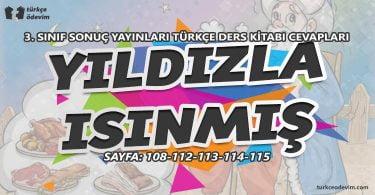 Yıldızla Isınmış Metni Cevapları - 3. Sınıf Türkçe Sonuç Yayınları