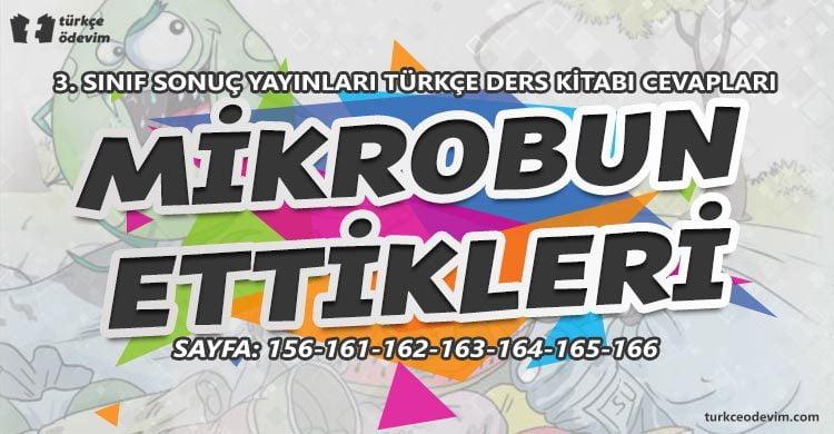 Mikrobun Ettikleri Metni Cevapları - 3. Sınıf Türkçe Sonuç Yayınları