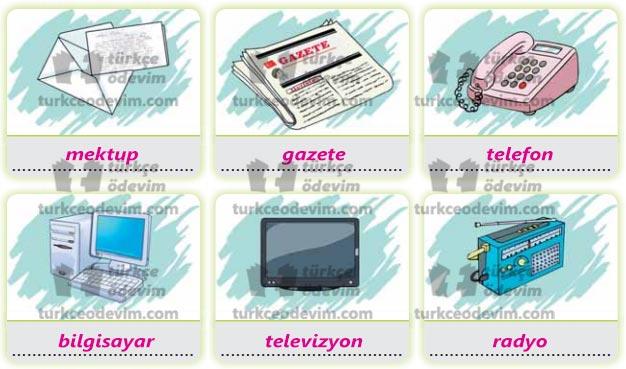 İletişim Metni Cevapları - İletişim Araçları