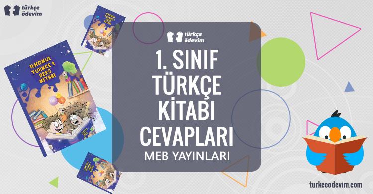 1. Sınıf Türkçe Çalışma Kitabı MEB Yayınları